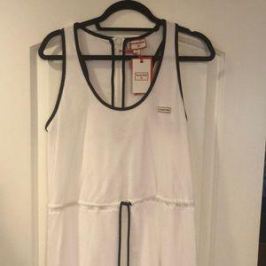 Hunter for target white dress size medium
